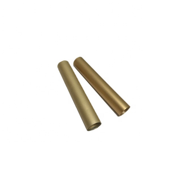 Brass Anodized Aluminum Hollow Pipe tube Hollow Brass Tube