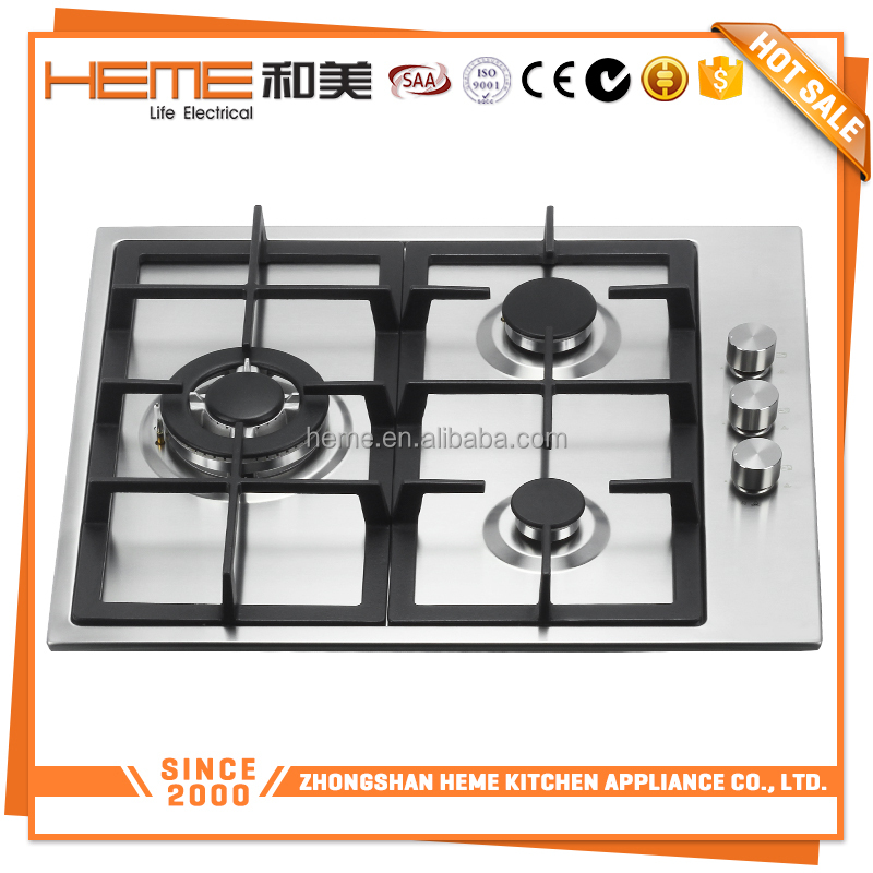 Energy-saving LPG surface 60 cm kitchen cabinet gas cooker/ gas stove /Gas Cooktop(PGR6031S-A1CI)