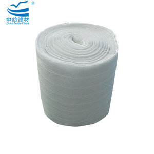 F7 F8 Activated Carbon Electrically Charged Washable Synthetic Primary Efficiency Fiber Bag Air Filters