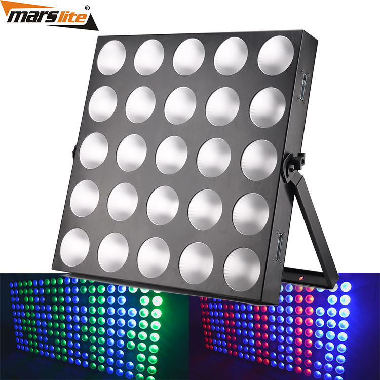 Professional Dmx512 Control 5x5 Dmx Led Audience Blinder Matrix Panel Beam 25x10w Rgbw 4 In 1 Led Matrix Blinder Light A Complete Range Of Specifications Stage Lighting Effect Back To Search Resultslights & Lighting