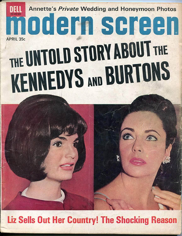 MODERN SCREEN MAGAZINE March 1973 Jackie Kennedy Nude