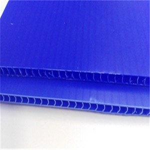 Custom Printing Corrugated PP Sheet Hollow Plastic Board Black PP Hollow Corflute Sheet