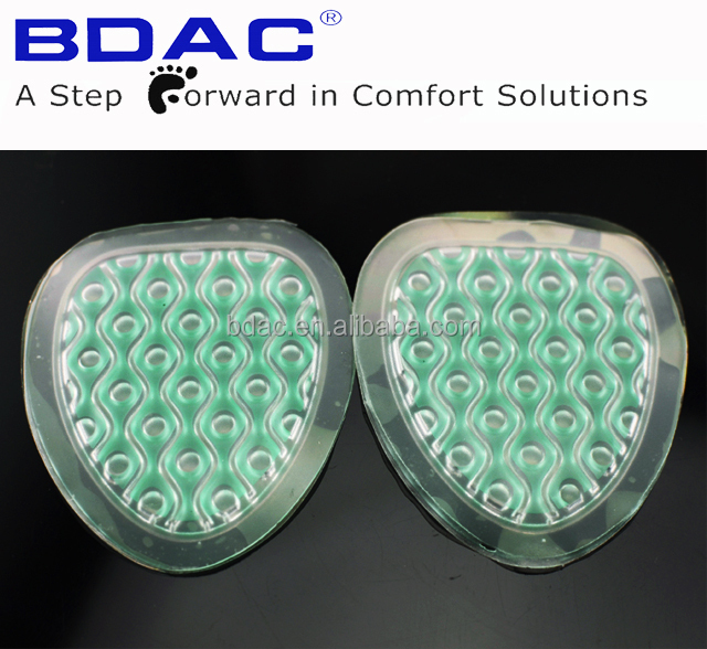 comfortable double color forefoot pad forefoot cushion