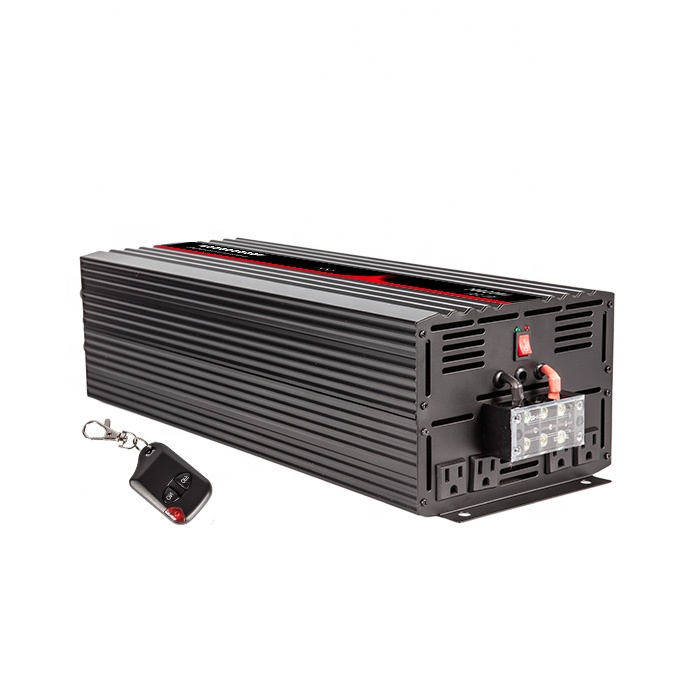 Power Inverter 12 v zu 110 v, Reine Sinus Welle Inverter 6000 watt