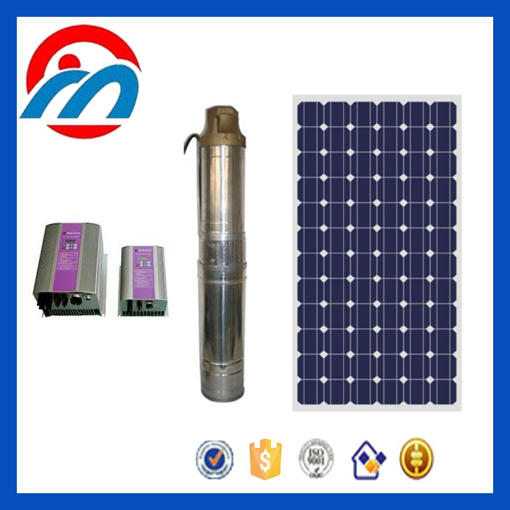 380v 100m head solar water energy panel system pump