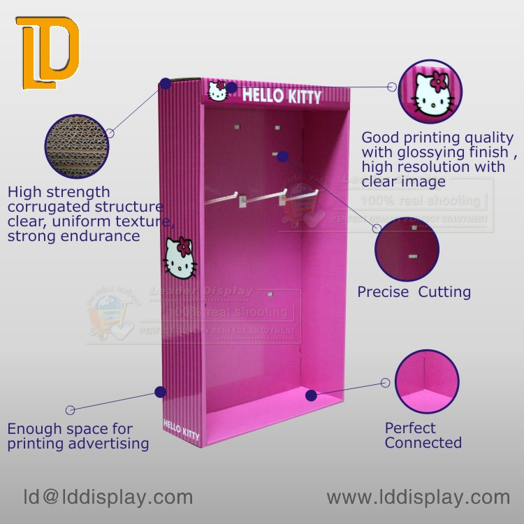 Factory Wholesale Hot Sell Professional Manufacturer Cardboard Sidekick Display