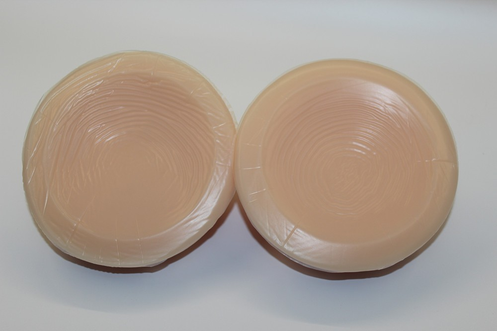 Round Shape Silicone Breasts Forms Artificial Transgender Boobs for Cross Dressing