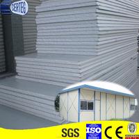 zinc coated white color steel EPS sandwich wall panel