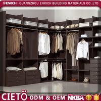 italian modular bedroom set foshan factory Wooden White Wardrobe, ready to assemble bedroom furniture clothes cabinet