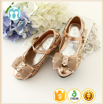 447fe6eacc5 Party Little Girls High Heel Shoes Wholesale Summer Girl Korean Honey Model  Girl Shoes With Silver And Gold Color - Buy Model Girl Shoes,Shoes ...