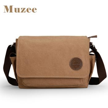 Muzee China Factory Hot Sale Vintage Canvas Messenger Bag Sling Bag Mens Shoulder  Bag eb6e016ccc