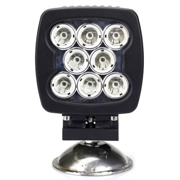 2016 hot 5.3inch 70w 80w 90w spot 90w led work light for cars trucks atv