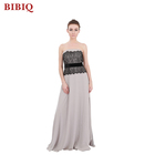 Fashion Sexy Off Shoulder Floor Length Chiffon Evening Dresses