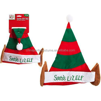 91900256e3608 Santa s Little Elf Fun Christmas Hat With Ears Xmas Hats Elves Behaving  Badly