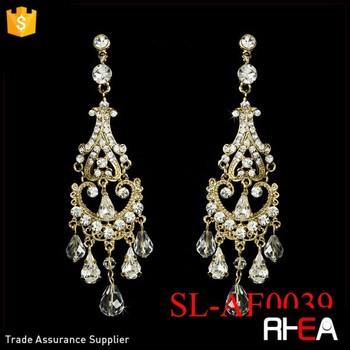 Factory Directly Wedding Earring Arabic Gold Designs Turkish