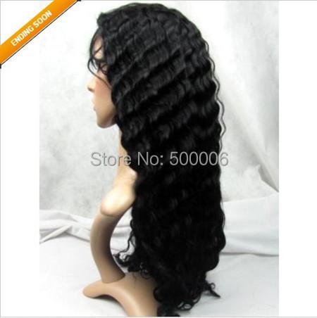Clearance sale virgin brazilian remy hair full lace wigs ...