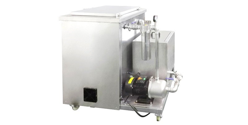 DK-6010DF 264L Industrial Engine Carbon Ultrasonic Cleaner with Filtration System