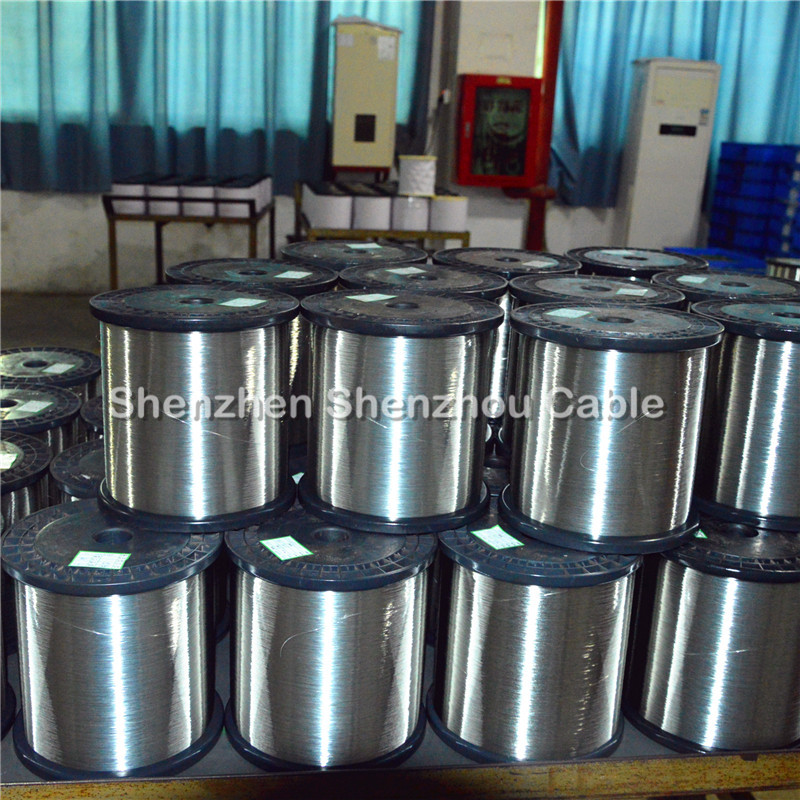 tin coated copper clad aluminum magnesium wire from China factory