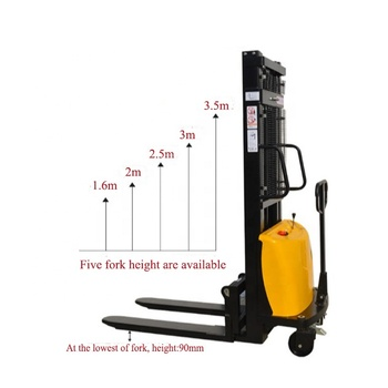 Semi-electric pallet stacker forklift/Electric hydraulic forklift truck for sale