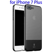 Baseus Luminary Case Scratch-proof Electroplating PC Back Case for iPhone 7 Plus case