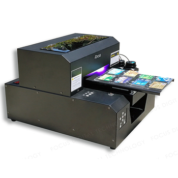 cheap id card printing machine a4 uv flatbed printer - Cheap Id Card Printer