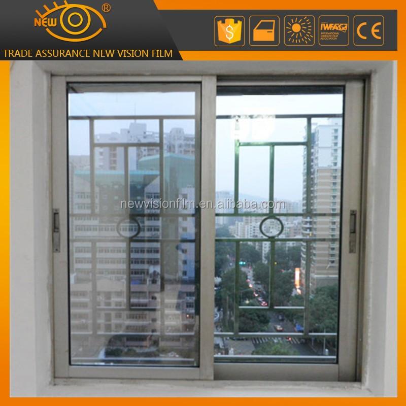 2 ply two way mirror silver window tinting heat rays for 2 way mirror window film