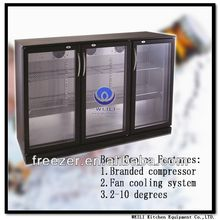 3 Triple Hinged Door Beer Refrigerator Showcase SC-338F
