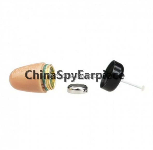 Non Magnetic Mini Earpiece 218 Micro Earphone Wireless In Ear <strong>communication</strong>
