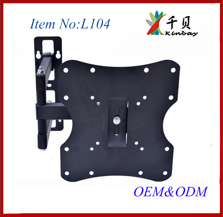 20 degree tilt tv bracket wall mount full motion swing arm tv wall mount