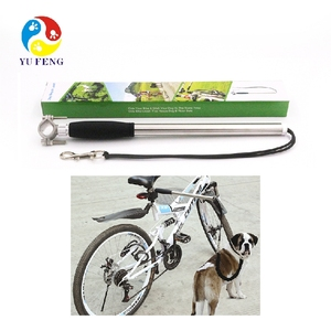 Free your hands dog bike carrier bike leash attachment for dog