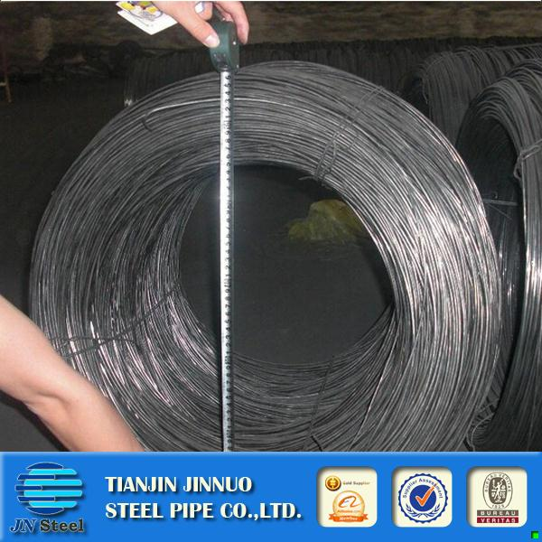 Plastic electro/hot dipped galvanized steel wire 18 gauge galvanized wire rod