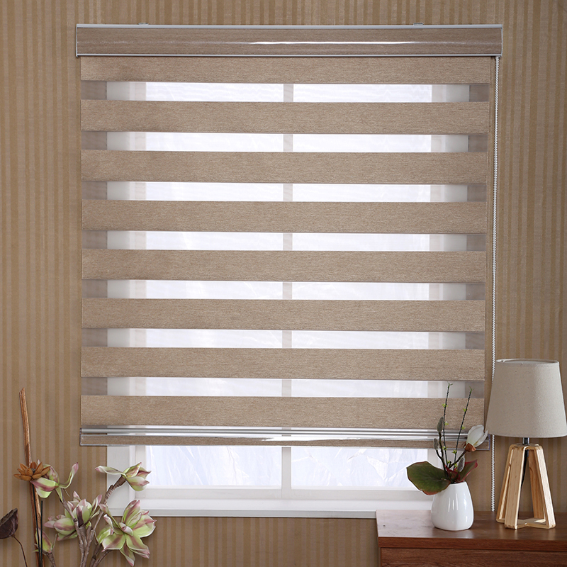2019 New Product Window Light Filtering Korean Combi Roller Blinds Style Curtains Blind On