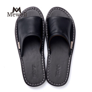Japanese Home Sandals Couple Leather Slippers