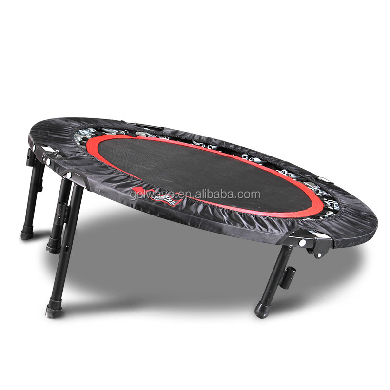 Muti-functional mini folding trampoline,Round fitness mini gymnastics trampolines,Indoor trampoline