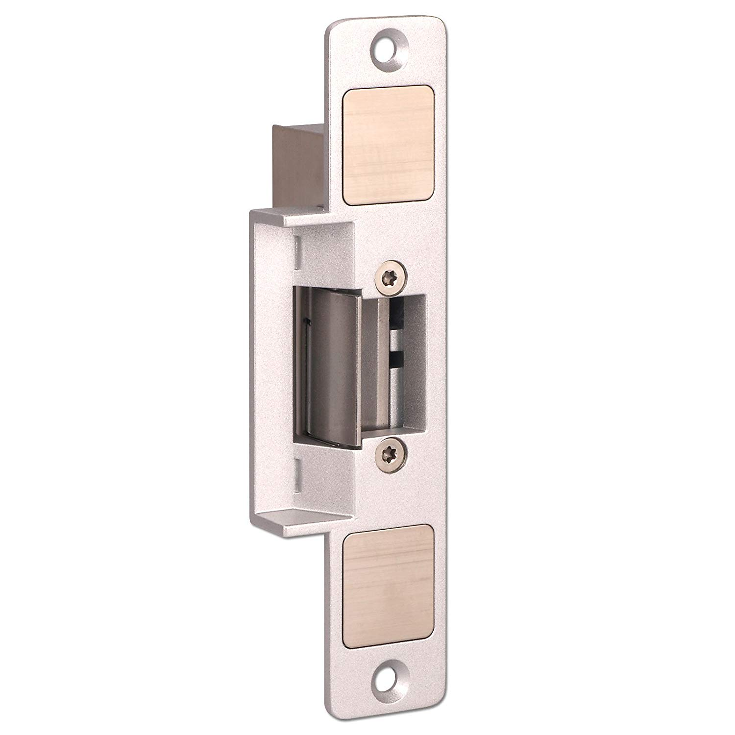 Electric Strike, ZOTER Door Lock DC 12V NC Mode Fail Safe for Wooden Metal PVC Door