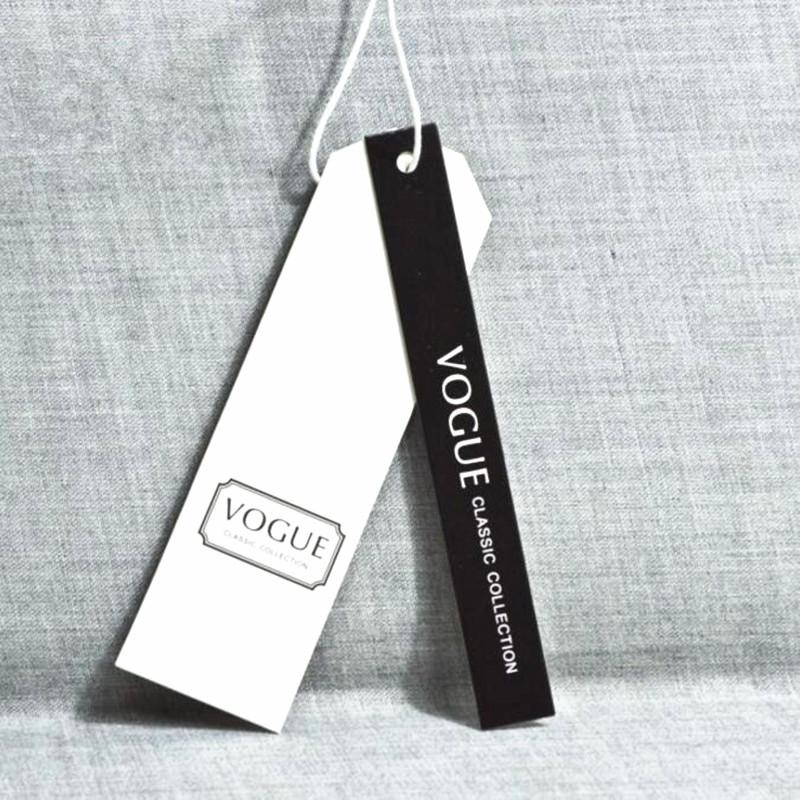 Paper Print Garment Hang Tag Template - Buy Garment Hang Tag ...