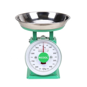1kg mechanical spring dial scale