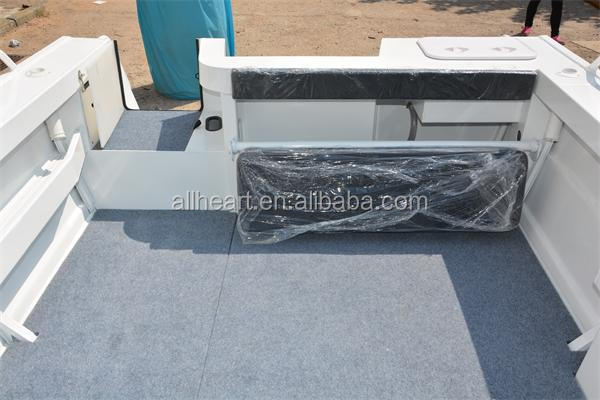 5m aluminum fishing windscreen runabout boat