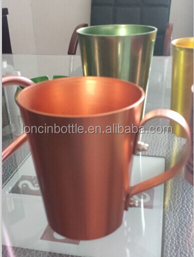 2015 neue smirnoff moskau alu becher kupferfarbenen tasse kupfer aluminium moscow mule becher. Black Bedroom Furniture Sets. Home Design Ideas