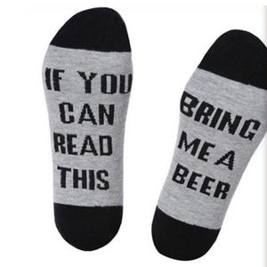 BONYPONY New arrival 2018 Custom wine socks If You can read this Bring Me a Glass Wine Socks