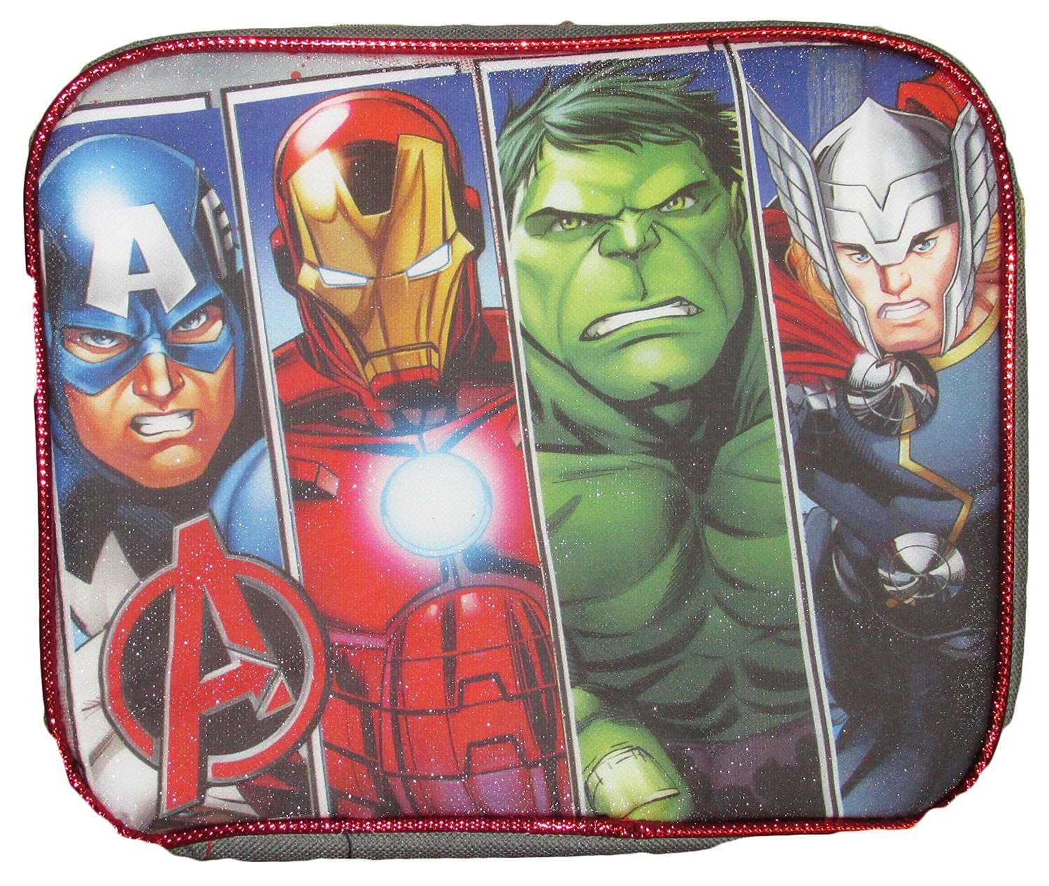 Marvel Comics Avengers Captain America Civil War Insulated Lunch Bag (Avengers 1)