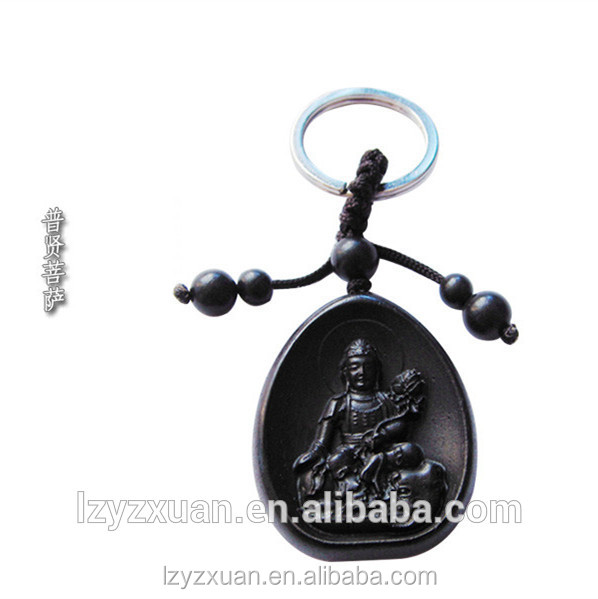 Low price buddha theme handcraft keychains for mobile phones hanging