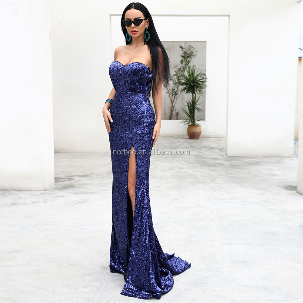 2019 Women Dress High Quality Sexy Evening Dress For Ladies Wholesale