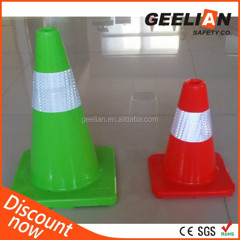 100% EVA/PVC/PE/Rubber DurableTraffic Cones Watering Cone for Out-door Use