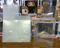 "FUNKO POP PROTECTOR BOX! 4"" & 6"" INCH VINYL BOX PROTECTORS! ACID-FREE CRYSTAL CLEAR CASES"