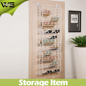 Nice 12 Layer Behind Door Plastic Storage Hanging Shoe Organizer