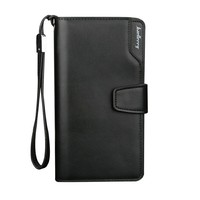 Wholesale men's wallet baellerry clutch bag pu leather money bag for men