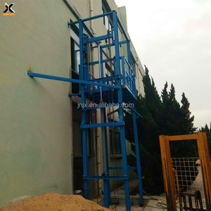 custom made professional install hydraulic small warehouse goods lift platform cargo with CE ISO certification