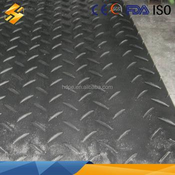 Polyethylene Plastic Hdpe Flooring Sheet Protection Mats