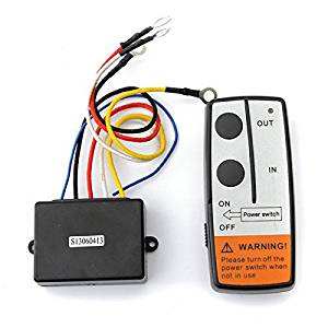 XCSOURCE Heavy Duty 12V Wireless Electric Winch 2 Remote Control Switch Handset for Car JEEP ATV SUV BI571